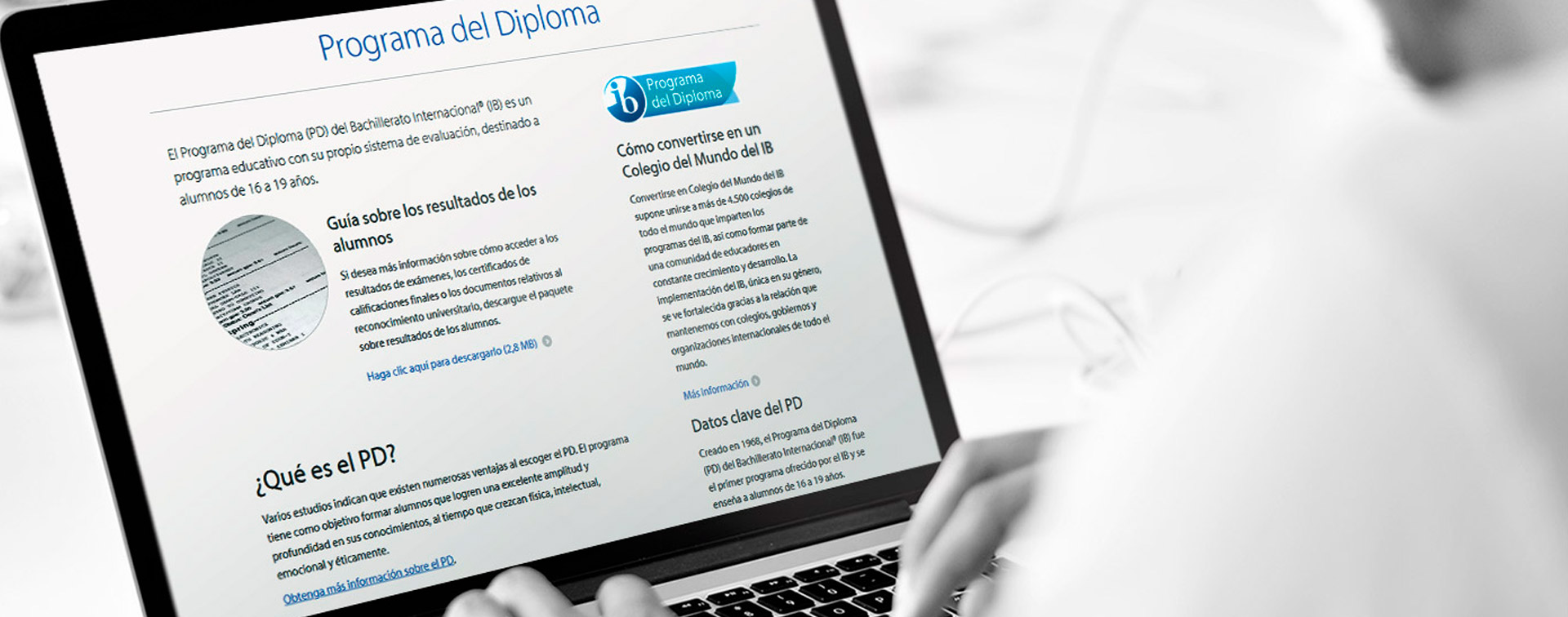 Sitio web oficial del Bachillerato Internacional