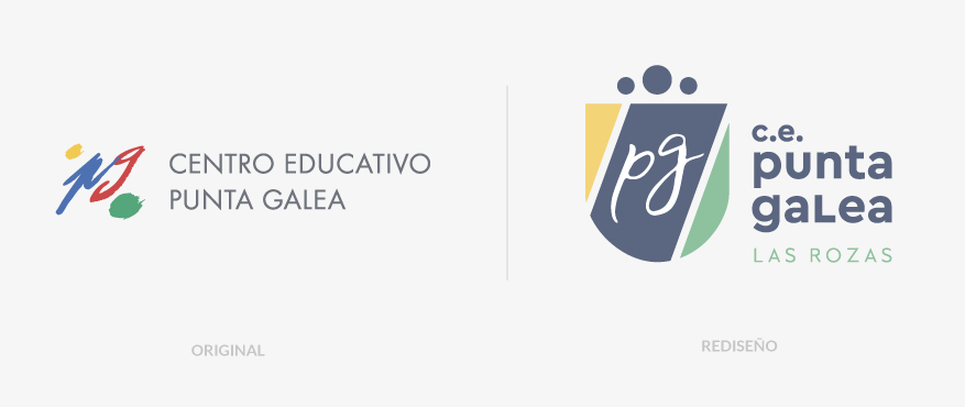 Comparativa de Rediseño del Logotipo